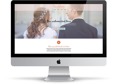Wedding Photographer Theme